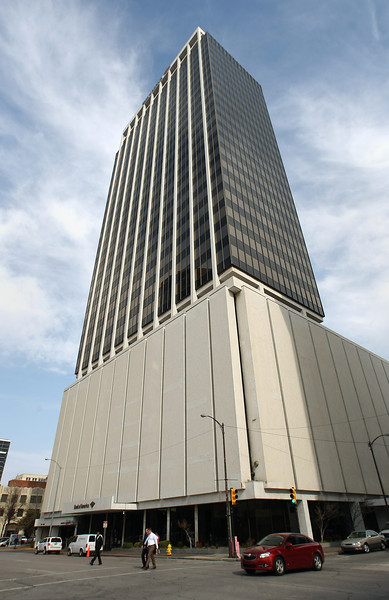 The Bank of America Tower in downtown Tulsa.