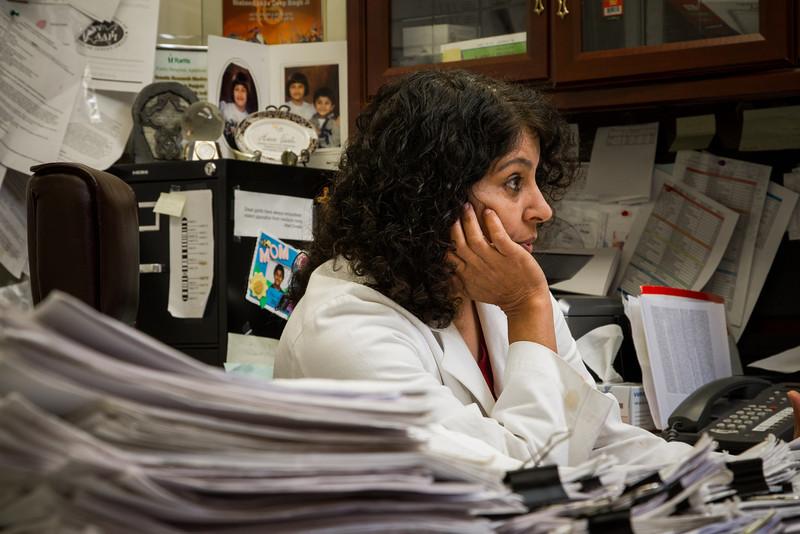 Diabetes researcher Dr Dharambir Sanghera at OU-HSC.