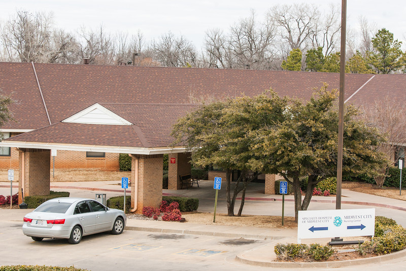 MidWest City Nursing Center at 8200 National Avenue.