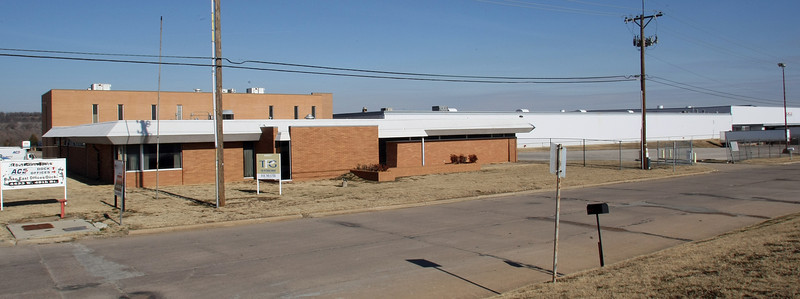 The warehouse at 4433 W. 49th St. in Tulsa.