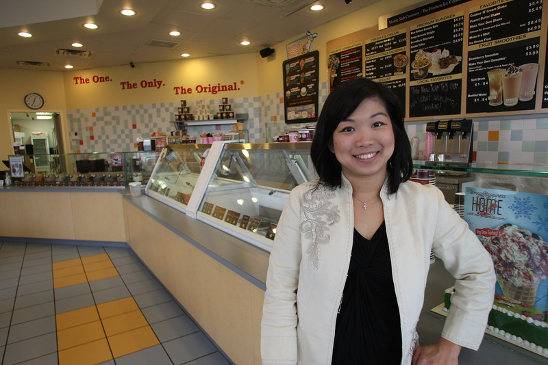 Wanda Septiano, Owner of the Marle Slab Creamery in Broken Arrow.
