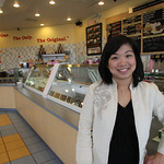 Wanda Septiano, Owner of the Marle Slab Creamery in Broken Arrow.