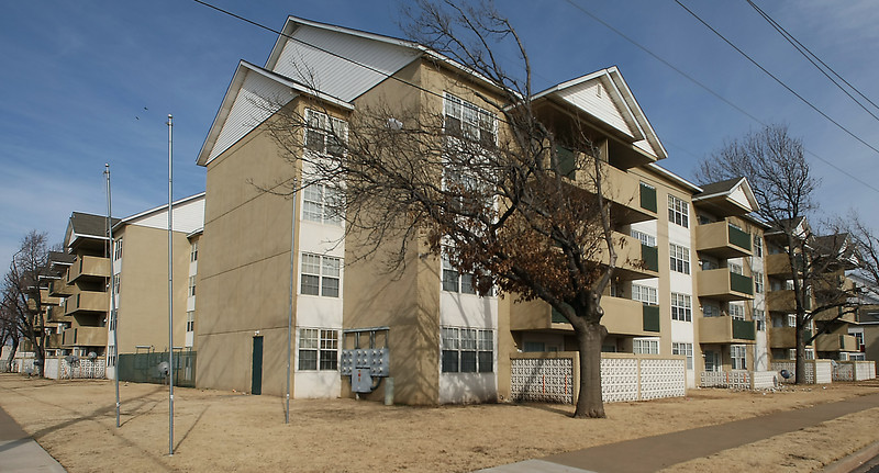 The Park Place Apartments near NE 28th and Lincoln Ave in Oklahoma City.