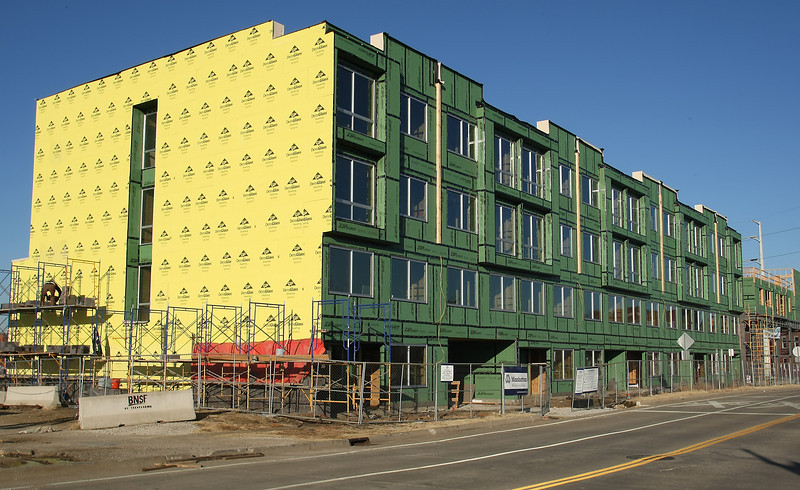 GreenArch, a $9.5 million residential/commercial project involving two buildings -- 70 apartments, about 9,500 square feet of retail space -- that Manhattan Construction is building at the southwest corner of Archer Street and Greenwood Avenue, across the street from ONEOK Field.