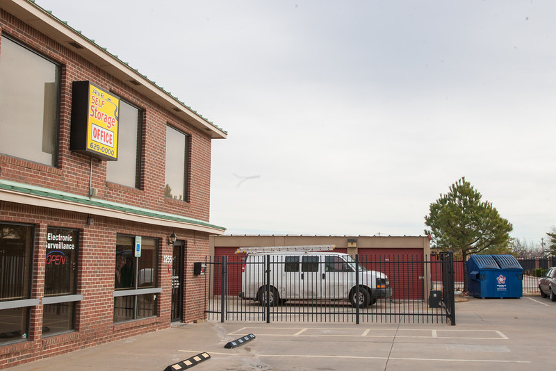 74th Street Self Storage in south Oklahoma City.