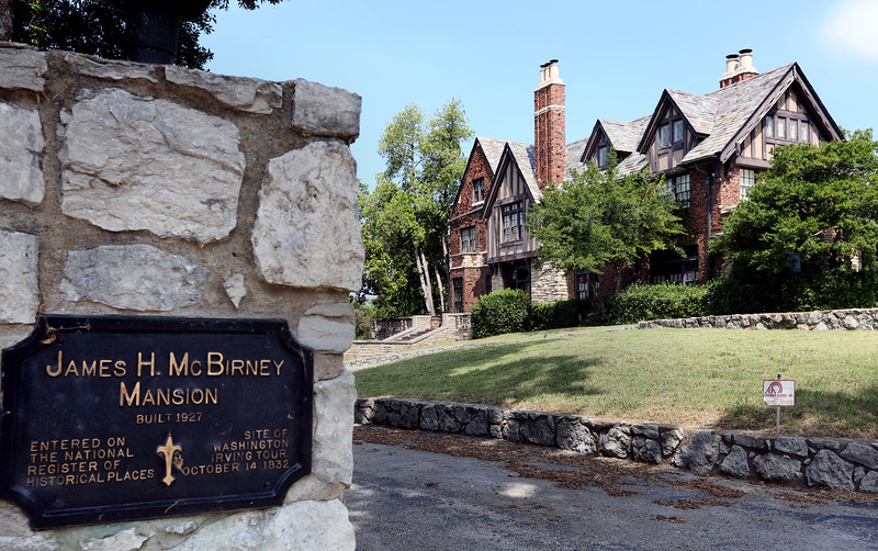 The McBirney Mansion in Tulsa.