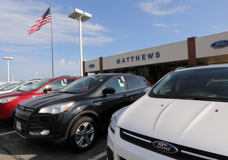 The Mathews Ford dealership in Broken Arrow.