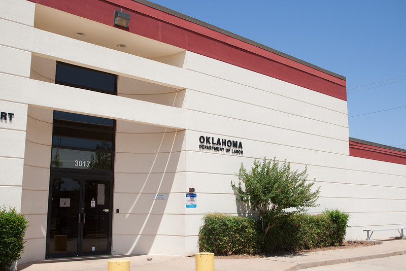 The Oklahoma Department of Labor at 3017 N Stiles in Oklahoma City, OK.