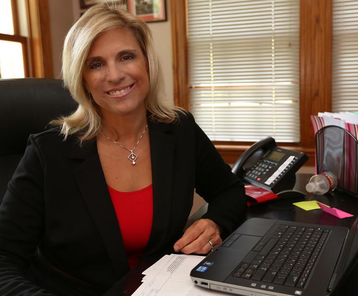 Diane White at her midtown Tulsa office.