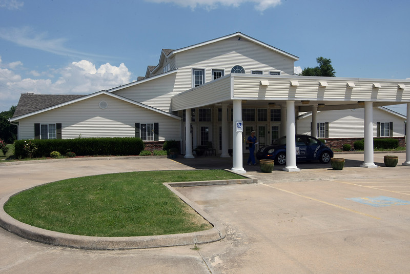The Heartland Plaza assisted living center in Broken Arrow.