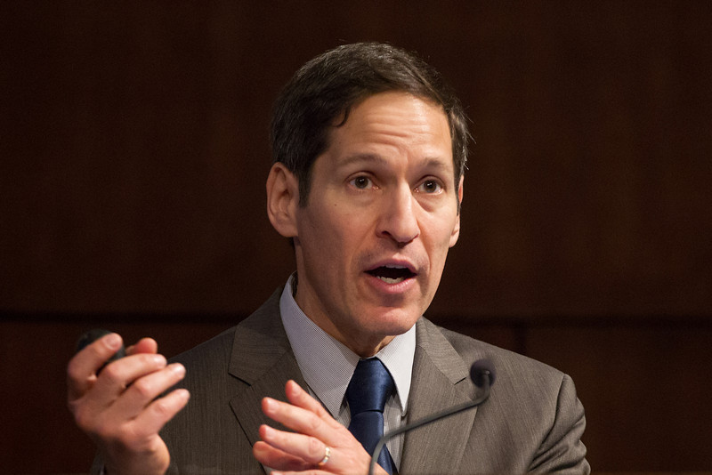 Dr Tom Frieden, director for the Center for Desiese Contoll and Prevention.