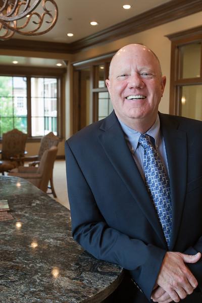 Mike Wynn, president of Crossfirst Bank in Oklahoma City, OK.
