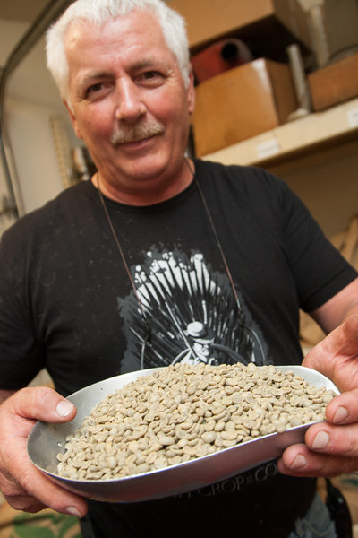 Dan Jelleff, owner of Roaster's Exchange in Oklahoma City, OK.