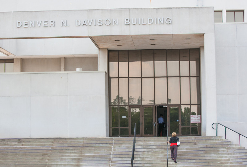 The Denver N Davinson building in Oklahoma City houses Oklahoma's workers compensation court.