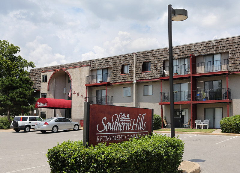 The Southern Hills Retirement Community in midtown Tulsa.