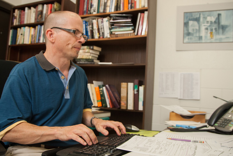 Steven Baker is the copy editor for the University of Oklahoma Press, the publishing department for academic books and lititure.