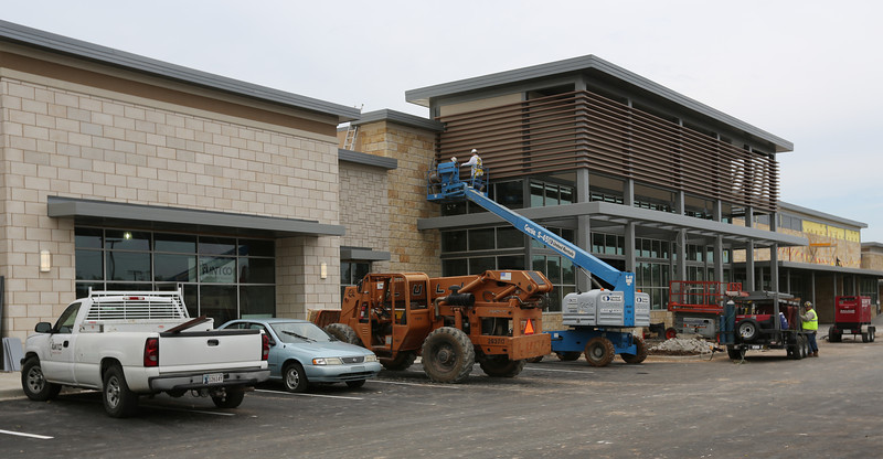 The Whole Foods store under construction in south Tulsa.