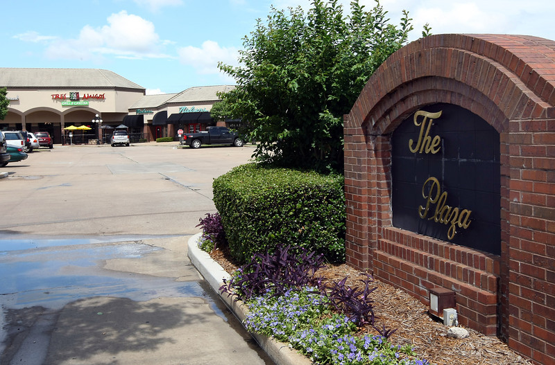 The Plaza shopping Center in  south Tulsa.