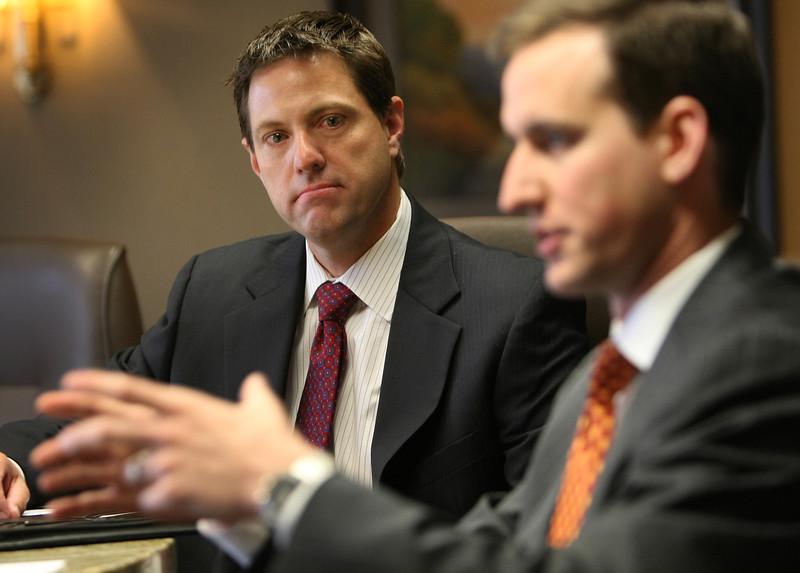 Richard Carson and Brandon Watson , attorney's at GableGotwals in Tulsa.