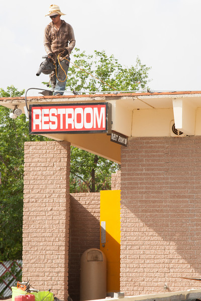 The Winchester Drive In theater suffered recent damage from a tornado. Located at 6930 S Western in Oklahoma City the theater is closed for repairs.