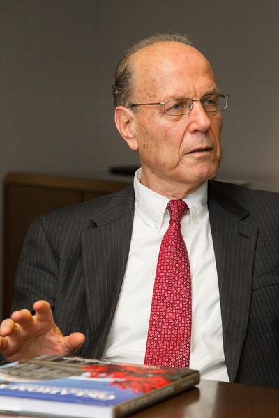 Former Isreali UN Ambassador Yoram Ettinger.