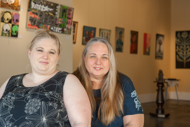 Lora Jacobs and her mother Susan Hollars are co-owners of Gallery 66 in Bethany, OK along with Mrs. Jocobs siblings.
