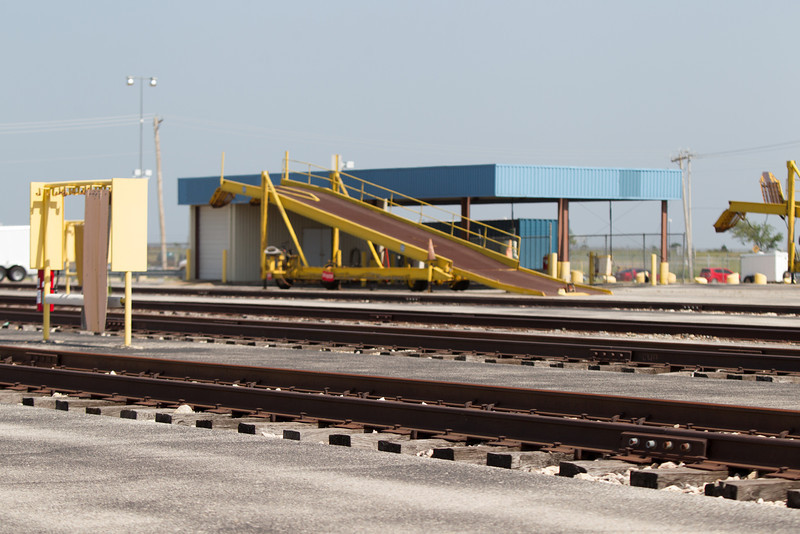 The BNSF rail yard located at S. Air Deport and I-240.