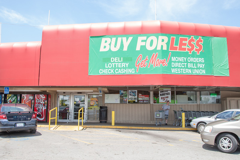 Buy for Less at NE 23rd and MLK Blvd in Oklahoma CIty, OK.