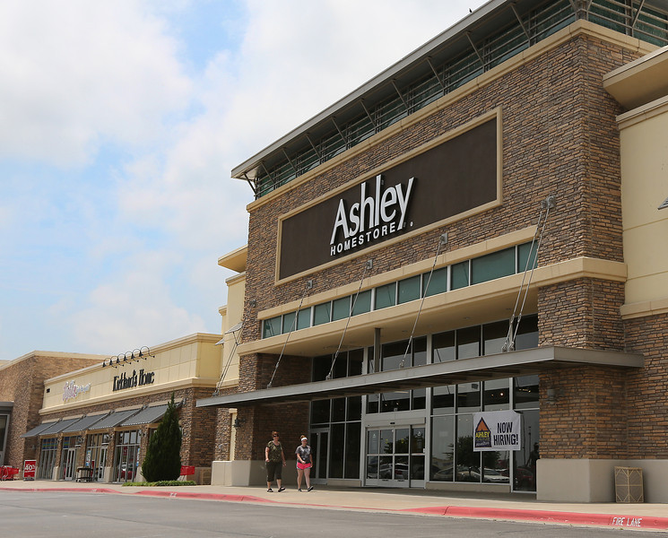 The Ashley Furniture store in Owasso.