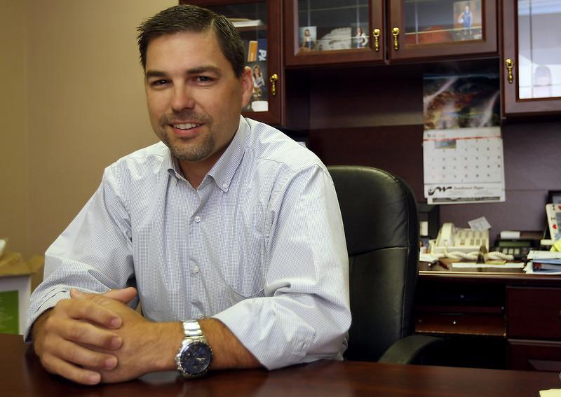 Brett Brumm, President of Anago Cleaning Systems in Tulsa.
