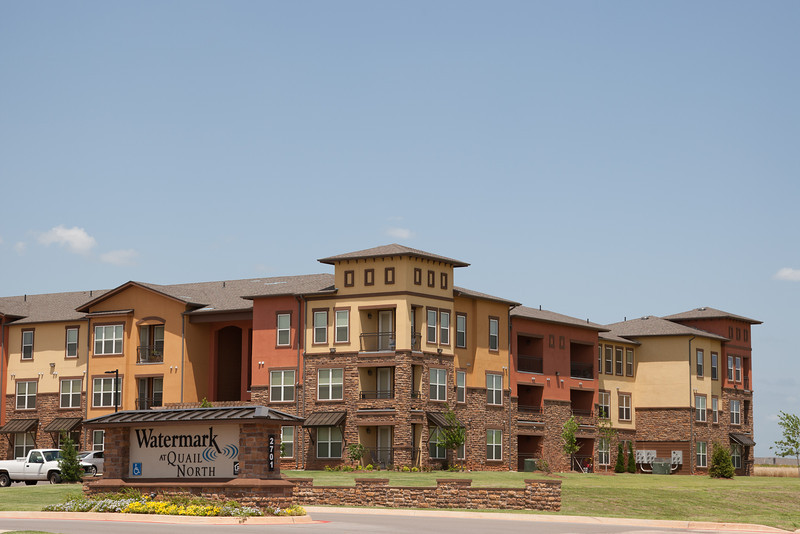 The Watermark at Quial North aprtments located at 2701 Tuscana Blvd in Oklahoma CIty, OK.