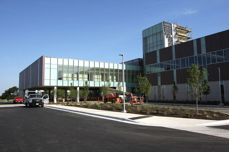 The Tulsa Cancer Institute in East Tulsa.