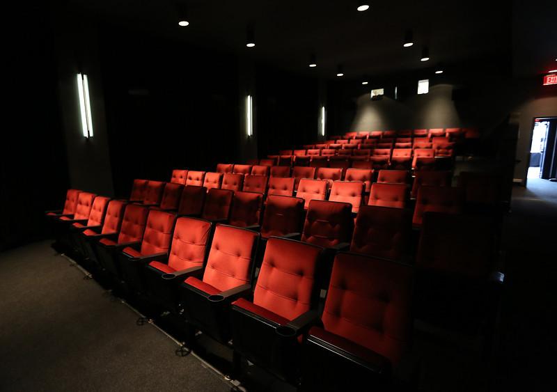 The original smaller auditorium the Circle Cinema Theatre in Tulsa.