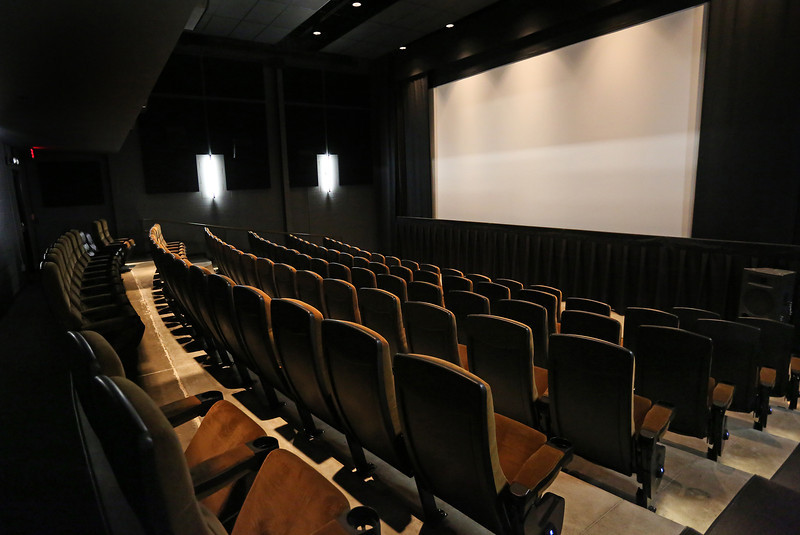 The second of four theaters opened at the Circle Cinema Theatre in Tulsa.