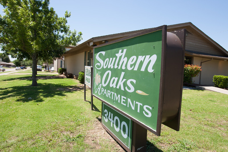 Southern Oaks Apartments located at SW 44th and I-44 in Oklahoma City, OK.