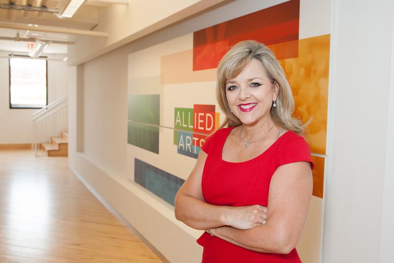 Deborah Senner, CEO of Allied Arts in Oklahoma City, OK.