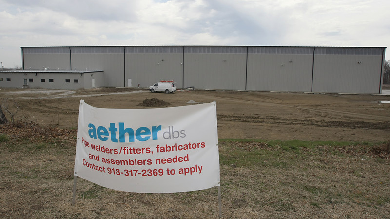 Aether DBS has leased a new 42,000 square foot facility at the Port of Catoosa.