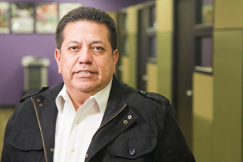 David Castillo with the Greater Oklahoma City Hispanic Chamber of Commerce.