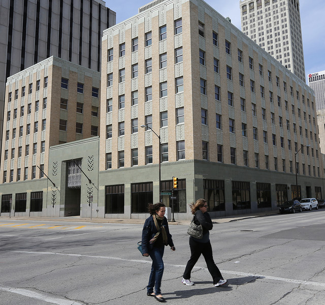 Wiggin Properties has requested an expedited hearing in its efforts to buy downtown Tulsa's Arco Building.