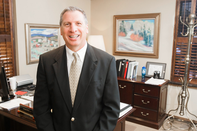 Doug Fuller, president of Quail Creek Bank located at 12201 N May Ave. in Oklahoma City.