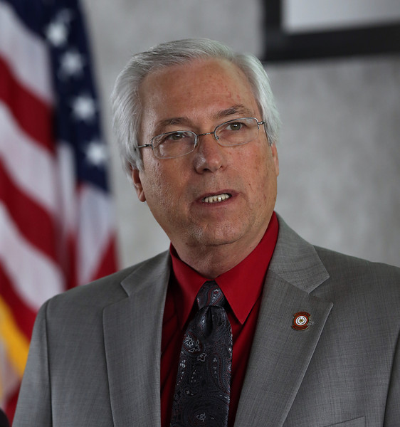 Bill John Baker, Principal Chief of the Cherokee Nation, announces a Cherokee Nation Business partnership that creates largest health care capital investment in tribal history.  The tribe is allocating more than $100 million  to build 100-bed hospital and four new health centers.