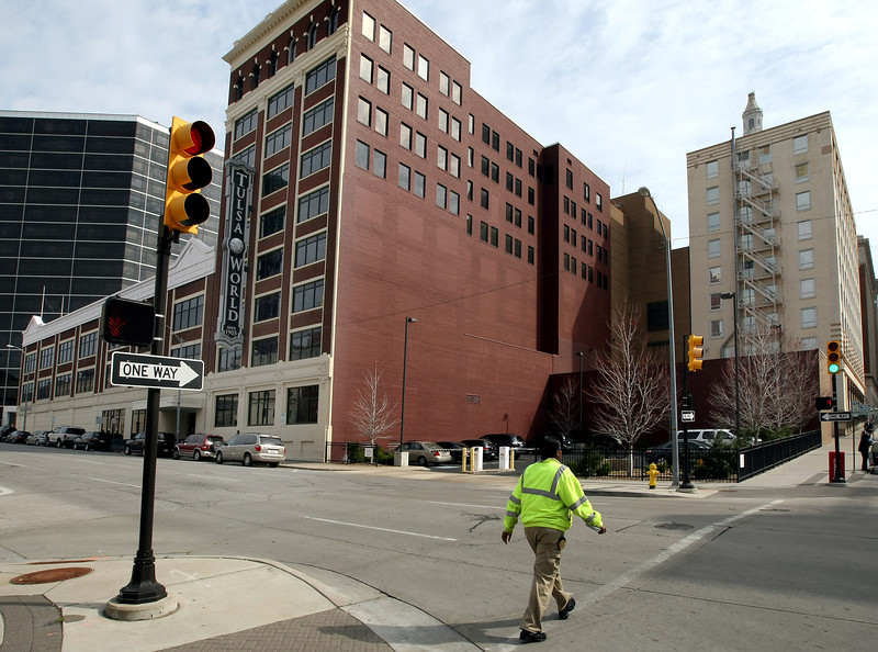 Berkshire Hathaway affiliate World Media Enterprises paid $7 million for the two Tulsa downtown blocks owned by World Publishing Company.