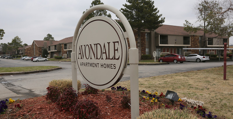 Tulsa's Avondale Apartments were sold to Oklahoma City firm linked to the embattled multifamily investor Lew McGinnis for $7.8 million.