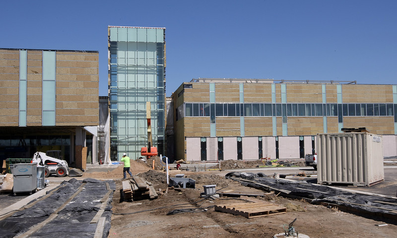 Construction continues at the The Tulsa Cancer Institute  in Tulsa.