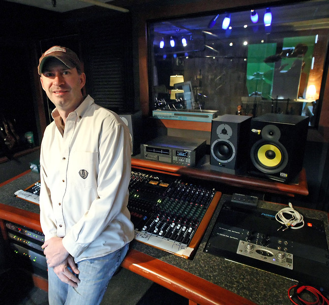 Audio and video subcontractor Brad Cook will help Emanon Records owner Michael Busch relocate his audio recording studio from Blue House Media to the Jazz Hall of Fame in downtown Tulsa