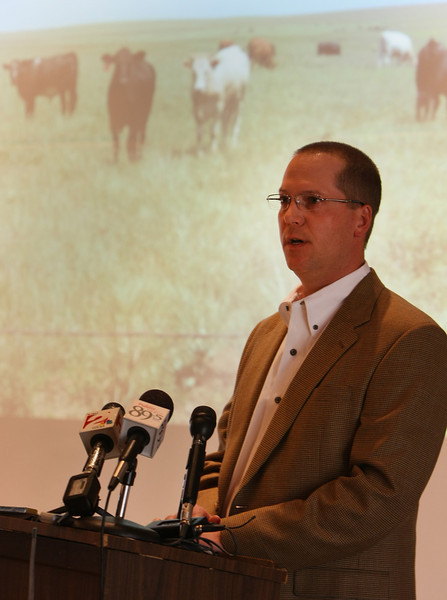 Jeff Henry, President of tje Osage County Cattleman's Association.