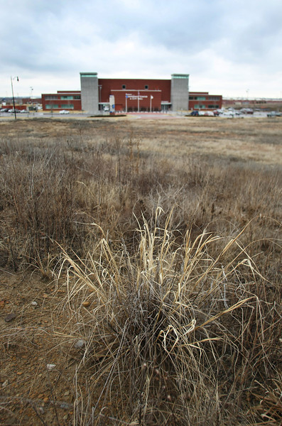 Land near the Glenpool community center will soon be developed into apartments.