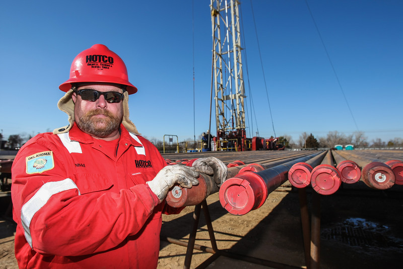 For three decades David Hough has fished drilling equipment from deep underground.