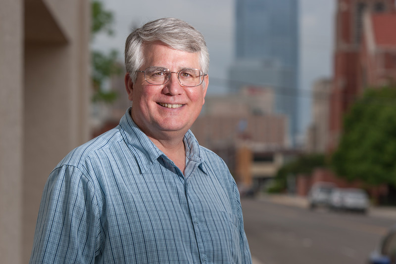 Rev. Don Vaught, associate pastor at First United Methodist Church in Edmond, OK.