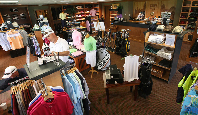 The pro9 shop of the Tulsa Country Club.